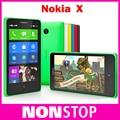 Nokia, x RM-980 Dual Sim desbloqueado Qual Core 4 GB ROM 4.0 '' 3MP 3 G WIFI GPS Nokia plataforma OS teléfonos celulares reacondicionados
