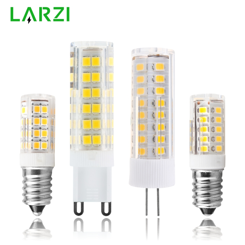 LED Bulb E14 G4 G9 3W 4W 5W 7W Mini LED Lamp AC 220V-240V LED Corn Bulb SMD2835 360 Beam Angle Replace Halogen Chandelier Lights