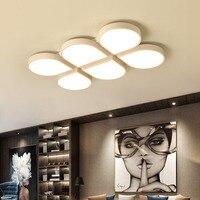 Modern Minimalist LED Ceiling Light Home Living Room Lamp Creative Rectangular Ceiling Lamps Bedroom Ceiling Lighting