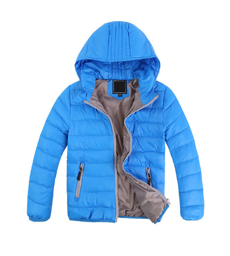 baby boys down jacket winter coat fashion leisure hooded thick solid warm coat boy girl winter clothing outwear Children's coat 2016 winter children boys down jacket coat fashion hooded thick solid warm coat boy winter clothing outwear for 4 13t 6 colors