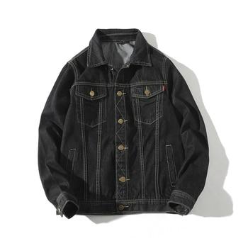 Autumn Style Small Jackets Coats Men Fashion jacket  Casual Denim Jacket Men,M-5XL