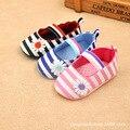 2016 nuevos zapatos de bebé nacidos hombres y mujeres 0-1 años viejos zapatos de bebé zapatos de niño suela de los zapatos de nueva otoño de aire punto