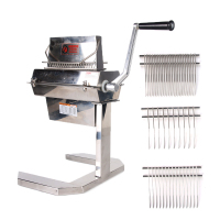Stainless Steel Comb for 5 / 7 Meat Tenderizer 2pcs/set Steak Beaf Pounders Blades Kitchen Meat Tools Commercial