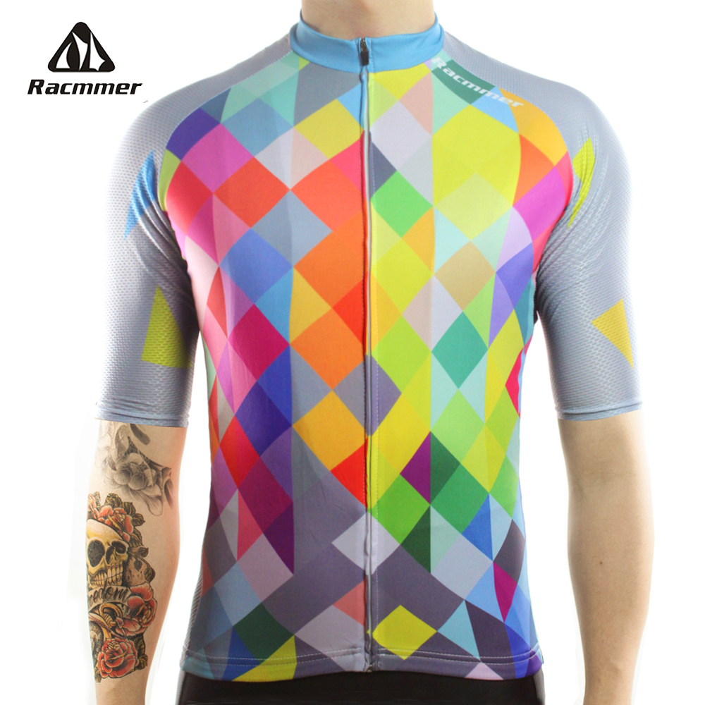 Racmmer 2018 Cycling Jersey Mtb Bicycle Clothing Bike Wear Clothes Short Maillot Roupa Ropa De Ciclismo Hombre Verano #DX-40 racmmer 2018 pro team cycling jersey fit mtb bicycle clothing bike wear clothes short maillot bicicleta roupa ropa de ciclismo
