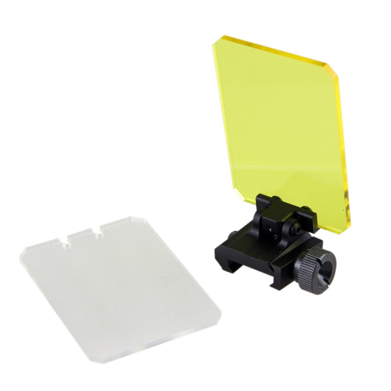 Foldable Airsoft Sight Scope Lens Screen Protector Cover Shield Rail Mount Outdoor Hunting Shooting Rifle Shotgun Protector