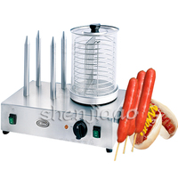 HHD 1 Home Commercial Grills Sausage Machine electric hot grilled hot dog sausage machine use for Grilled insulation and display