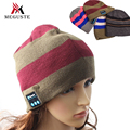 Meguste Bluetooth Шапочка Вязаная Зимняя worm шляпы для женщин. bonnet femme мода gorros mujer зима.
