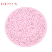 Silicone Mold Chocolate-Moulds Sugar-Craft Flower-Patterns Cake-Decorating-Tools Fondant Lace