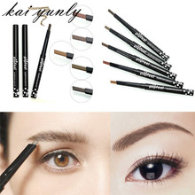 kai yunly 1PC Single-head Rotary Brake Eyebrow Lasting Not Blooming Easy To Color Beauty Cosmetic Makeup Make Up Tools Oct 11