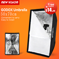 "Paraguas Softbox Godox Softbox Portable 50*70 cm 20 ""* 27"" Paraguas Reflector de Alta Calidad Paño de Flash para Flash"