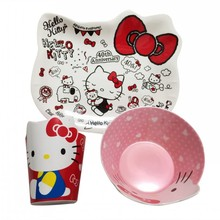 New Melamine Baby Infant Cute Cartoon shape Feeding Plate Fruit snack Dishes Kids Cute shape Child kids Tableware Tray