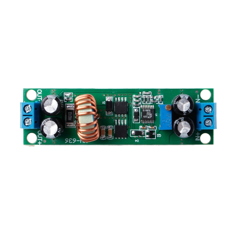 OOTDTY 10A DC-DC 6.5-60V to 1.25-30V Adjustable Buck Converter Step Down Module Widely Used For Low Voltage System Power Supply