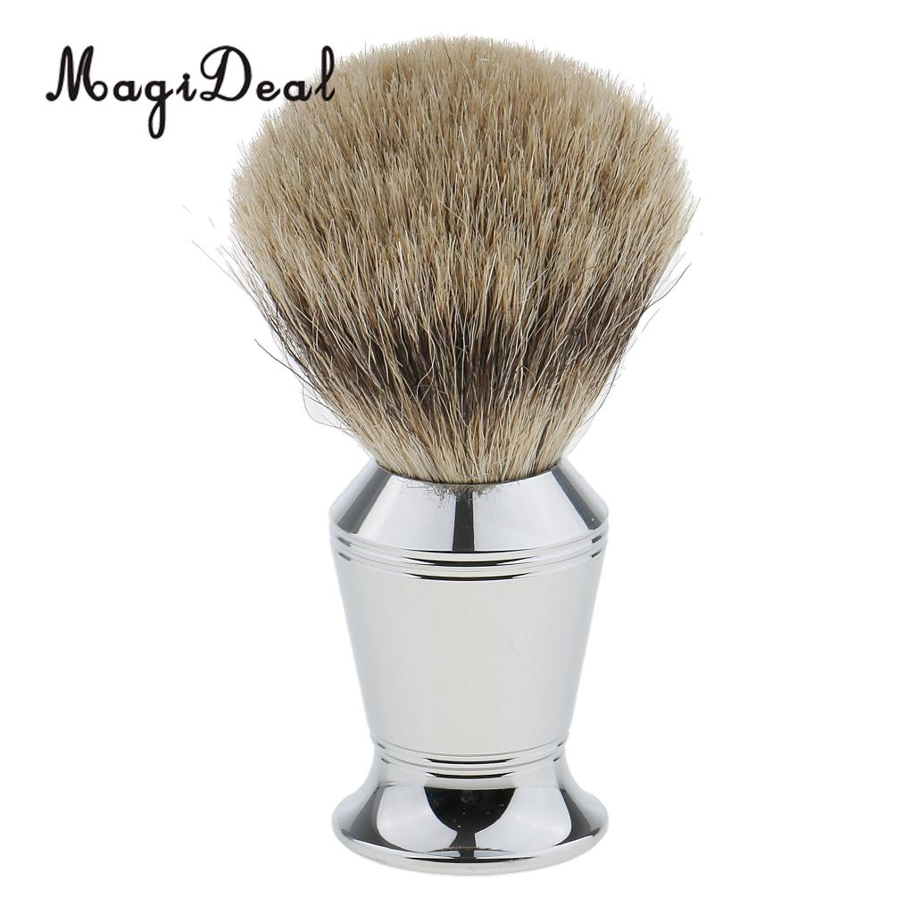 MagiDeal Removable Men Classic Shaving Tool Set Razor+Brush+Stand Weighted Base+Bowl salon shaving tools