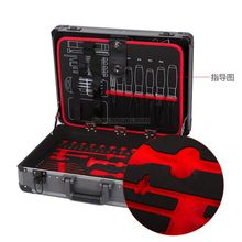 multi-function Portable aluminum alloy Tool Box For Big Small Tool Kit instrument box equipment case suitcase Safety Storage Box(China)