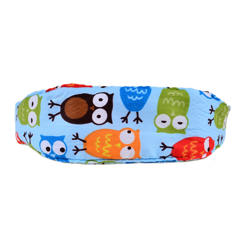 BOHS Baby Owl Adjustable Car Safety Seat Sleep Positioner Head Support Pram Stroller Fastening Belt