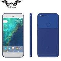 새로운 원본 5 인치 구글 픽셀 4 기가 바이트 128 기가 바이트 휴대 전화 미국 버전 금어초 821 쿼드 코어 4G LTE 안드로이드 구글 스마트 폰