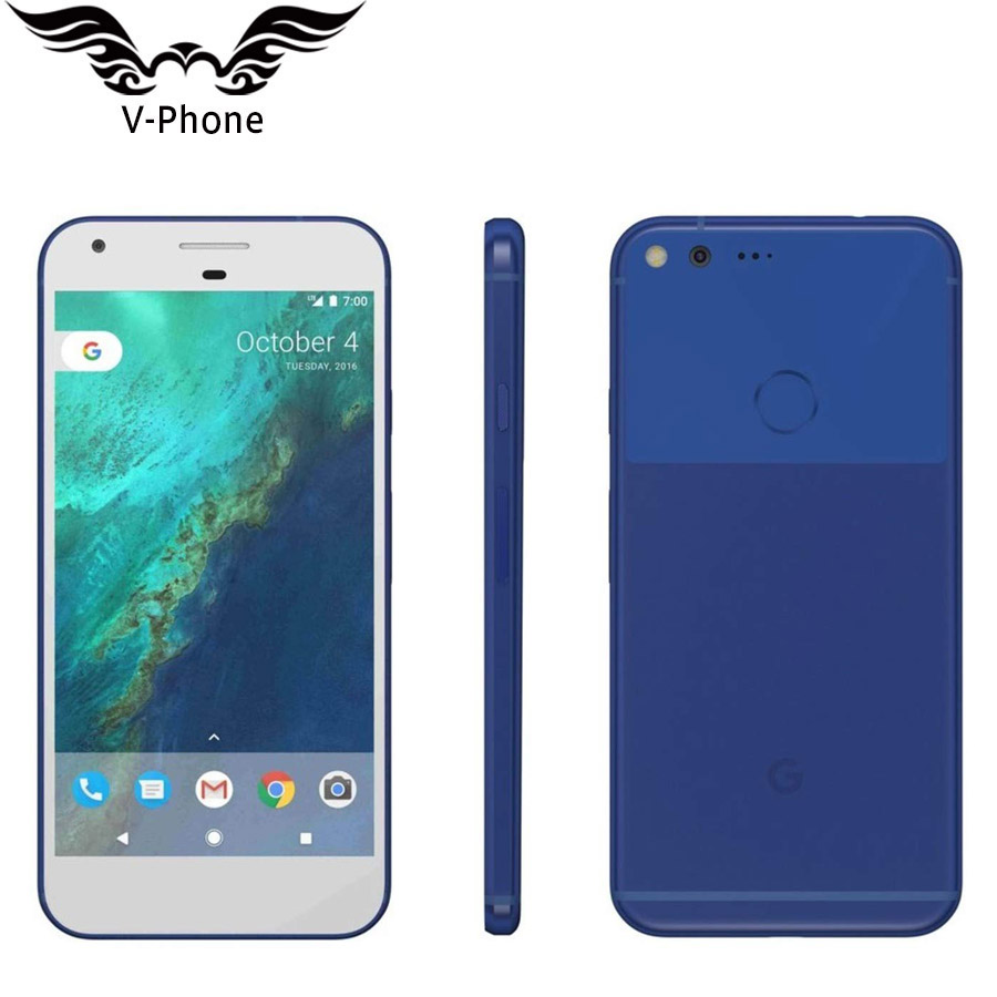 New Original 5 inch Google Pixel 4GB 128GB Mobile Phone US Version Snapdragon 821 Quad Core 4G LTE Android Google Smartphone