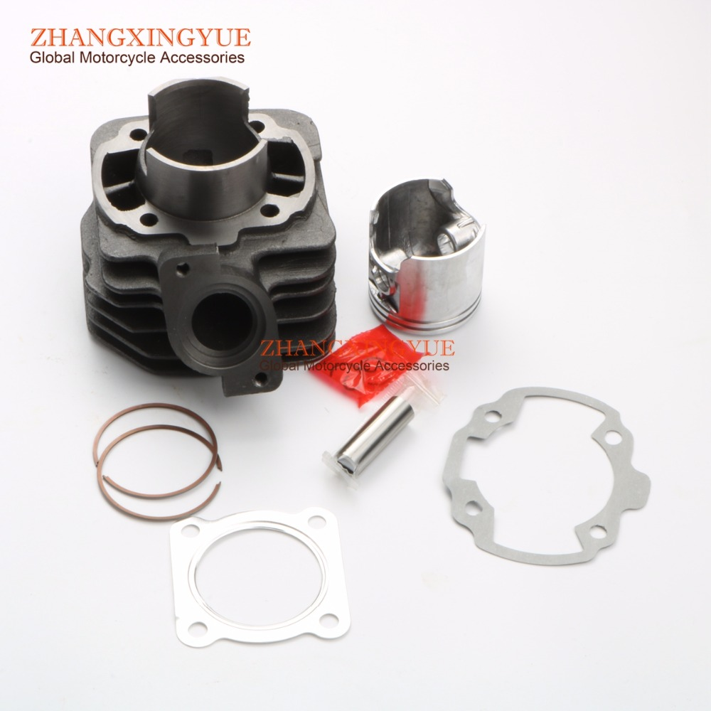 70cc Big Bore Cylinder Barrel Kit for PEUGEOT Speedake Squab SV 50 TKR Furious R10 R12 TKR Furious Trekker Road 50cc 47mm/12mm 47mm 10mm 70cc big bore cylinder barrel kit head for aprilia gulliver rally scarabeo sonic sr 50cc