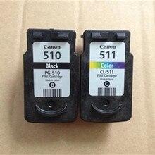 2PK картридж для canon PG510 510 CL511 511 для Canon PIXMA MP250 MP230 MP240 MP252 MP260 MP270 MP272 MP280 принтер струйный