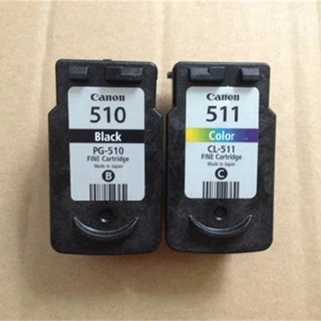 2PK  Ink Cartridge For Canon PG510 510 CL511 511 For Canon PIXMA MP250 MP230 MP240 MP252 MP260 MP270 MP272 MP280 Printer Inkjet