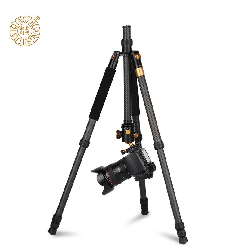 Novi QZSD Q1088C Profesionalni Carbon Fiber DSLR fotoaparat stativ - Kamera i foto - Foto 5