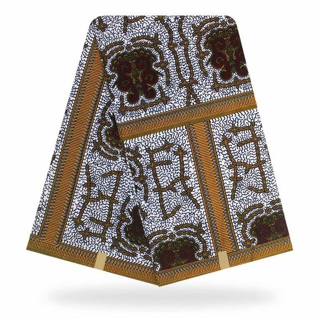 African Hollandais wax prints fabric/Ankara Real Dutch wax Fabric