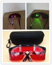2pcs Safety laser Glasses 400nm-540nm 405nm purple blue / 532nm green Laser protective eyewear Eye Protection Goggles