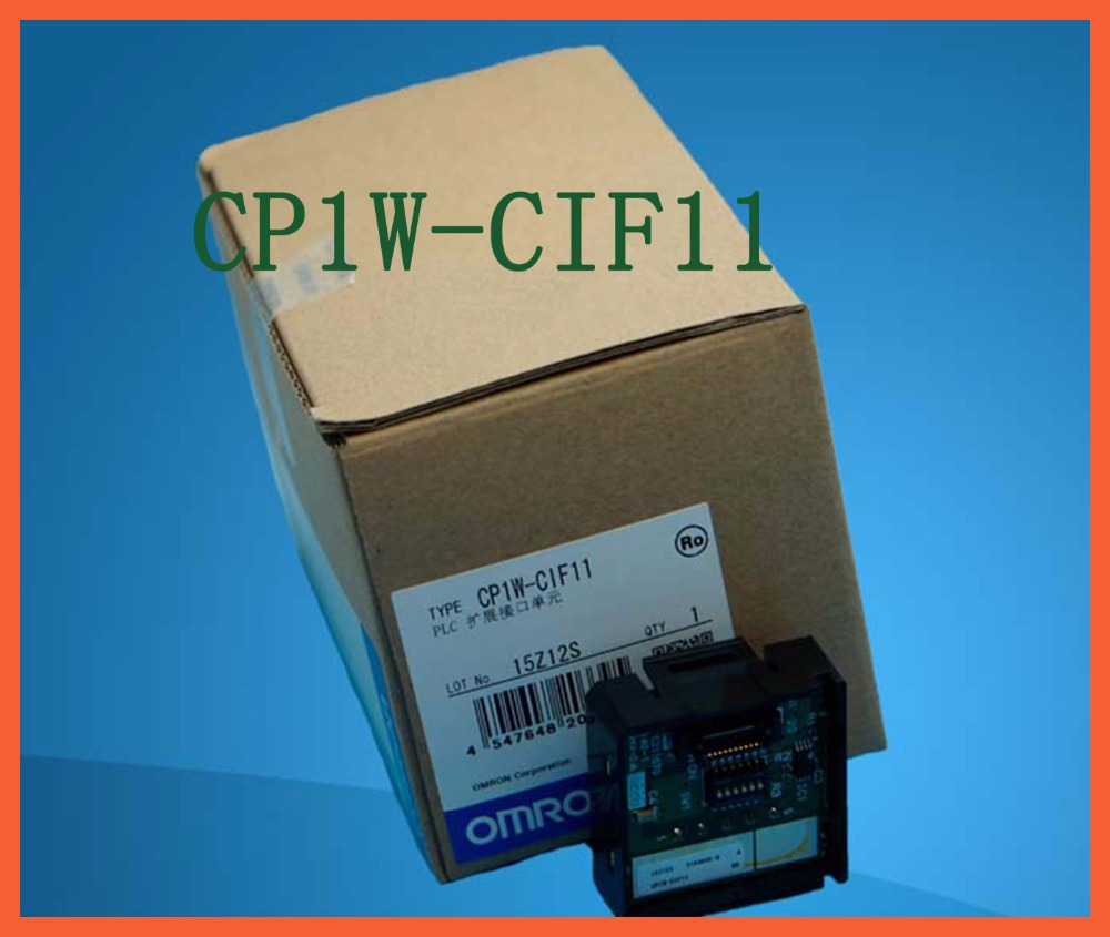 CIF11 CP1W-CIF11 PLC RS485/RS422 Option Module, CP1WCIF11 Communication Module, NEW CP1W CIF11 in box new original 1756 eweb plc 100 mbps communication rate controlnet communication module