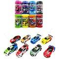 Multi-color 1: 63 Coca-cola Puede Mini RC Radio Remote Control Micro Car Racing Juguetes de Coches Vehículo Remoto electrónica Juguetes Para niños Regalos
