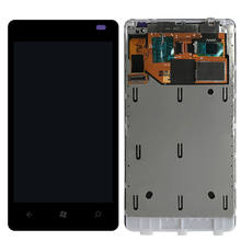 Sinbeda AMOLED 3.7 ''LCDสำหรับNokia Lumia 800 จอแสดงผลLCD Touch Screen Digitizer ASSEMBLYสำหรับNokia Lumia 800 หน้าจอLCD(China)