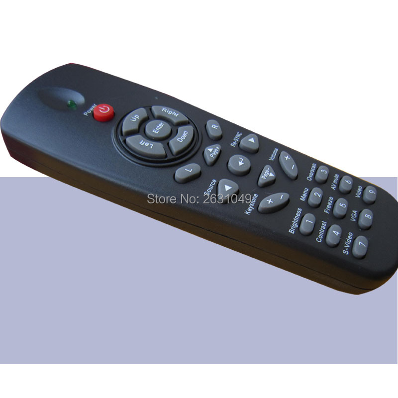US $2 9  new suitable for optoma projector remote control for DEH2060  EX779P DS315 DX615 EP620 EP720 EP721 EP727 TS720 DS312 EX530 DX612-in  Remote