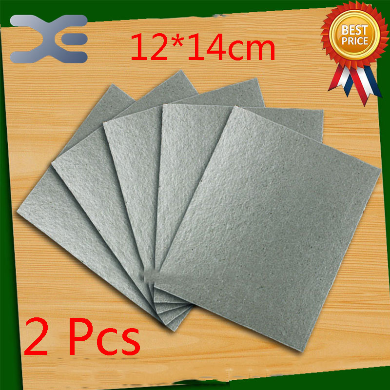 2Pcs Accessories For Microwave Ovens Mica Sheet 12*14cm Microwave Mica chantecaille shine eye shade refill mica цвет mica variant hex name 908a94