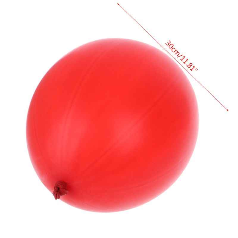 Punch Balloons With Rubber Band Handles Fun Filled Deluxe Large Toys Party Favors Kids Party Supplies Inflatable Balls Oct20-A