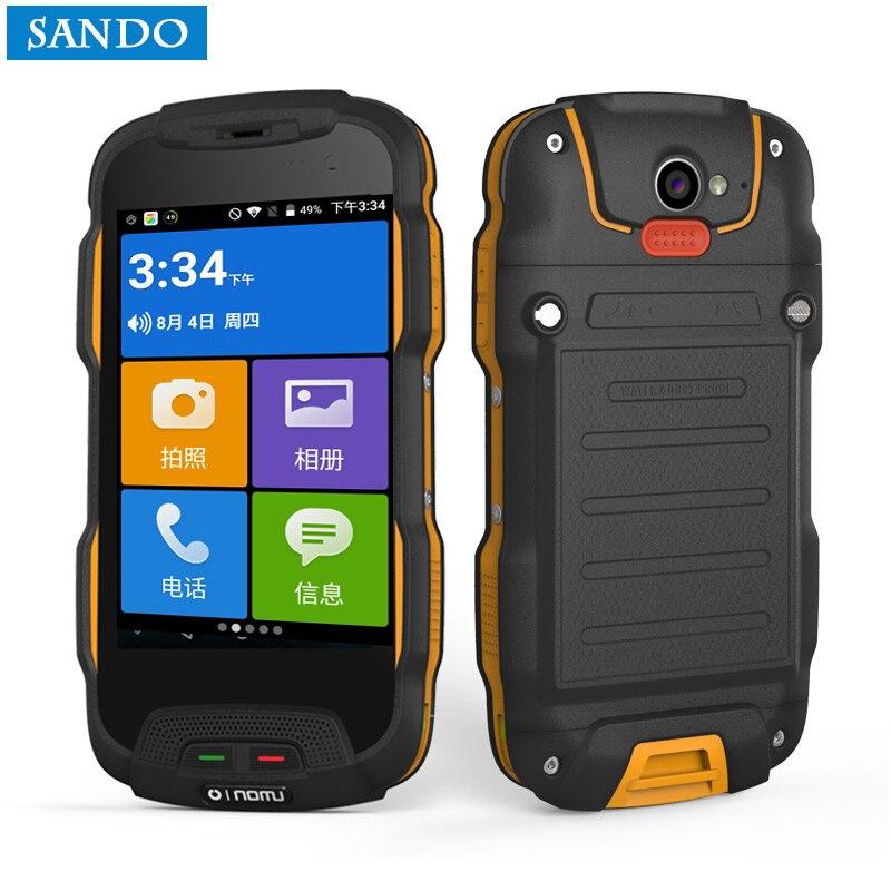 Oinom T9H V9-T V1 Android smartphone téléphone étanche 4 pouce 5200 mAh 4g lte celuar mobile robuste antichoc IP68 dual sim IP67