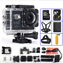 Motion Digital camera 2.zero inch Full HD Wifi 1080P 30fps Underwater 30M 170 Diploma Lens Waterproof Excessive Sport digital camera