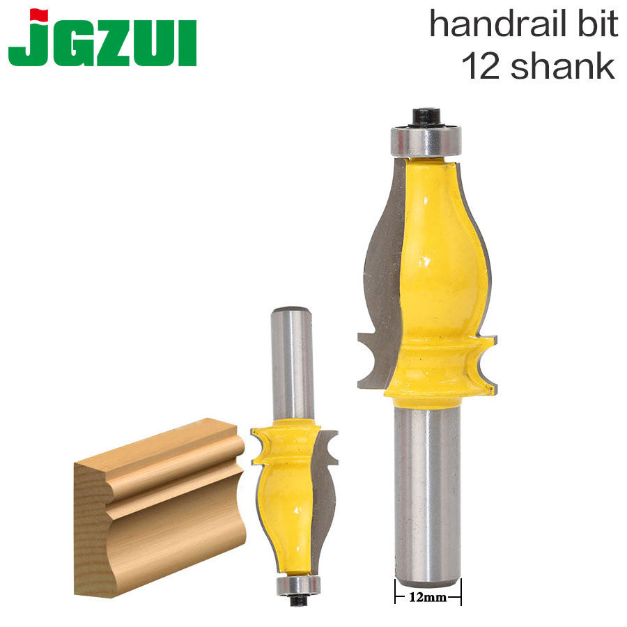 1PC Architectural Molding Router Bit - 12 Shank Tenon Cutter for Woodworking Tools 1PC Architectural Molding Router Bit - 12 Shank Tenon Cutter for Woodworking Tools
