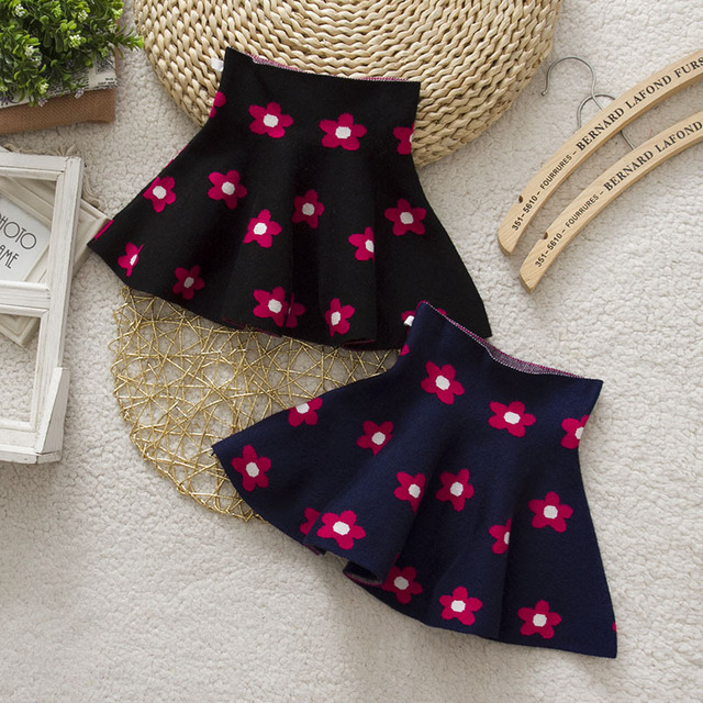 Spring&Autumn Girls Skirts High Waist GirlsBaby Party Skirts  Children Clothing