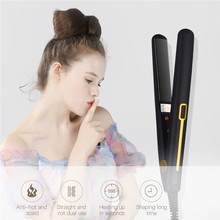 2 in 1 Mini Electric Hair Straightener