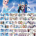 12 Full Cover Decals Different Styles Water Transfer Nail Art Stickers Snow Queen & Cartoon Characters DIY Decoration A1189-1200