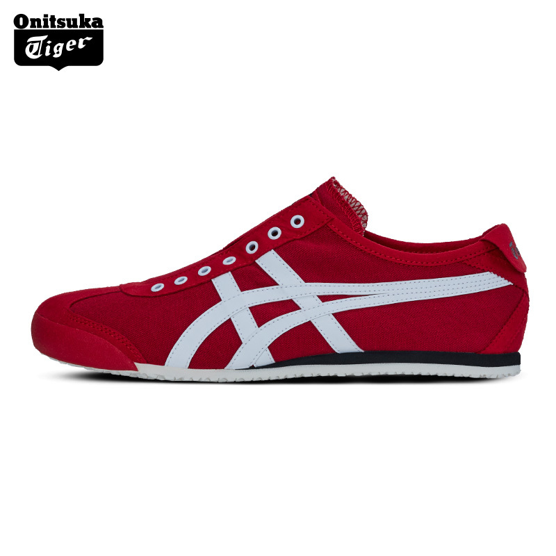 Onitsuka Tiger MEXICO 66 Outdoor Men's Shoes Slip-on Unisex Shoes Breathable  Lightweight Women Sneakers D3K0N u2 mexico