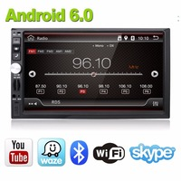 2GB RAM 1024 600 HD Screen Android 6 0 Car Multimedia Player For Universal Quad Core