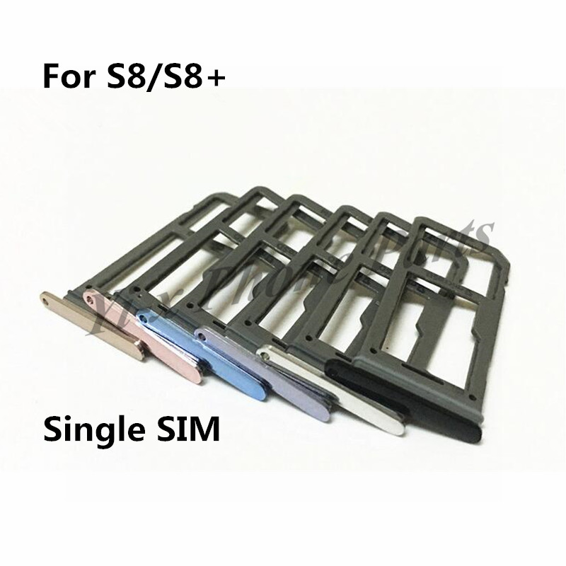 100PCS Lot SIM Card Slot SD Card Tray Holder Adapter Single SIM and Dual SIM for