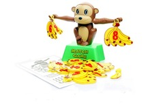 TopSun Monkey Digital Balance Toys Matching Game Puzzle knowledge Digital Addition and Subtraction Balance Toys(China)