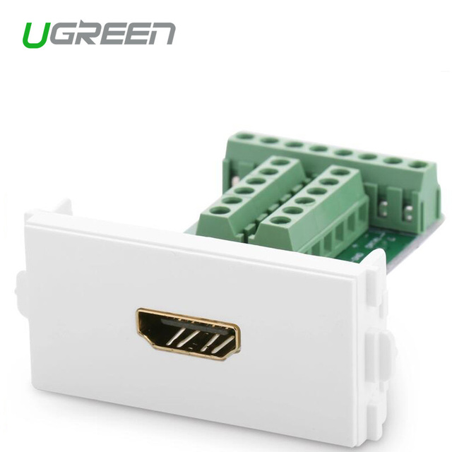 UGreen Hdmi Line Card Module 3d Hdmi Module Socket Welding Free Decoration Repair Manual 1.4 Free shipping