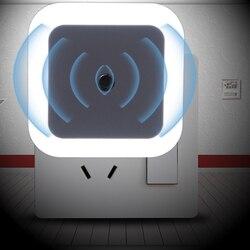 Luz nocturna de Control con Sensor Z10, Mini enchufe europeo y estadounidense, lámpara cuadrada de dormitorio para regalo de bebé, luces coloridas románticas