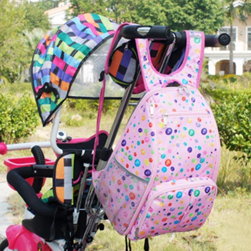 Large Multi-functional Mom Backpack Milk Bottle Baby Diaper Bag Mom Bag Nursing Bag Nappy Storage Organizer for Baby Care