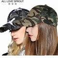 2016 de algodón de camuflaje gorra de béisbol de la manera versión Coreana de la marea modelos masculinos y femeninos sombrero lengua de hueso al por mayor