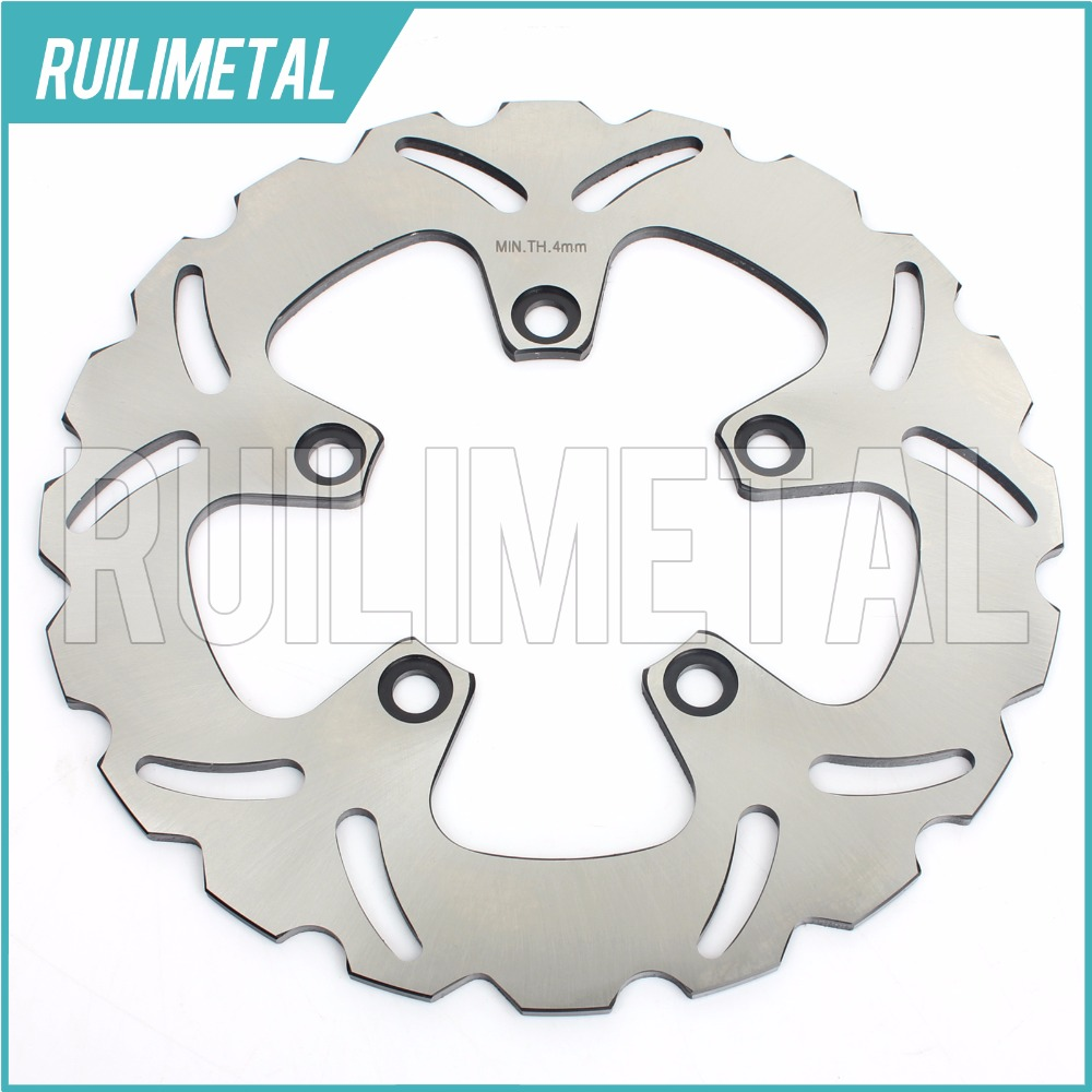 Rear Brake Disc Rotor for SUZUKI RF600R GSF SV-S 650 BANDIT GSX750F  Katana 98-06 motorcycle front and rear brake pads for suzuki gsf600 s y k naked bandit s k faired bandit f katana sv650 gsx750 f katana