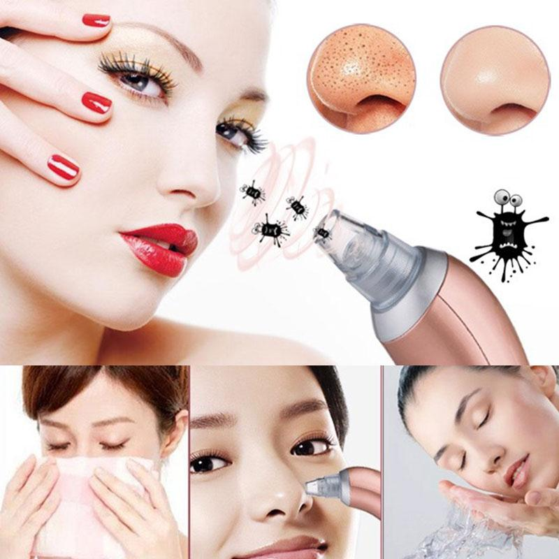 Skin Care Beauty To Electric Blackhead Artifacts Acne remover Pores Clean Exfoliating Cleansing Facial Instrument Spot Cleaner mythos clean skin купить оптом