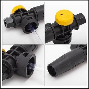 Image 4 - Generador de espuma/Cañón de pistola de jabón/limpiador de lanza de espuma de nieve químicos/rociador de espuma de lavado de coches para Huter